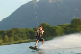 Wakeboard am Mondsee